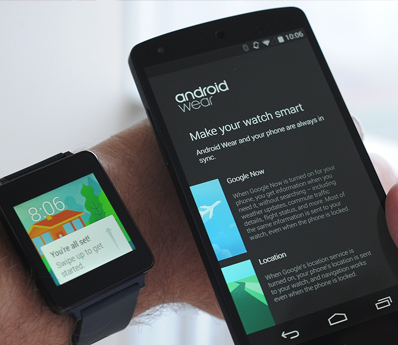 Android wear development services